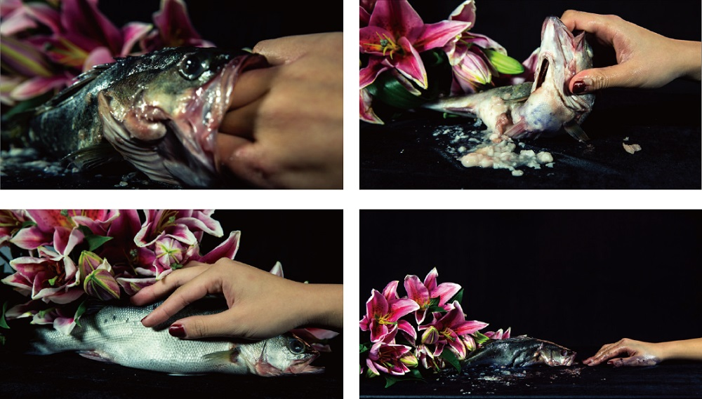 "Peng Yun ""Miss Melissa and Mr. Fish at 2:31pm"", Video, 7'47', 2013"
