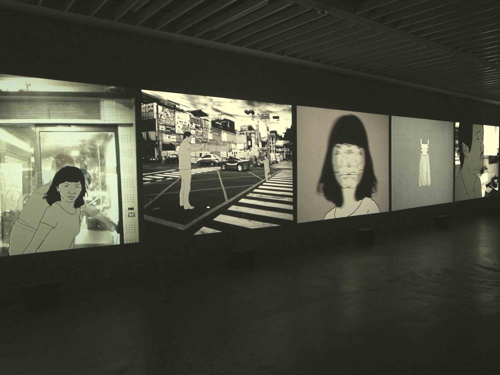 """Hsu Che-Yu """"Perfect Suspect"""", 5 Videos, 5'20'', 2011"""