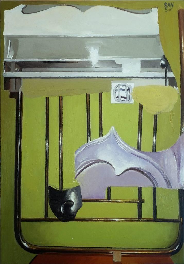 《淘金》140cmX100cm布面油画 2018