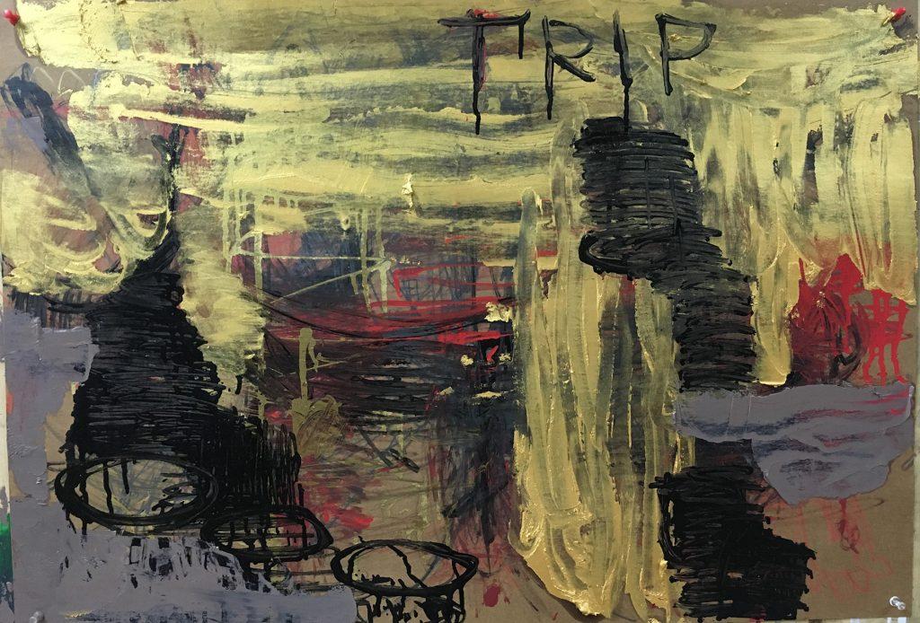 TRIP-纸上油画-55x79cm-2019(小)