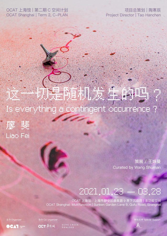 艺术家 | 廖斐 OCAT上海馆 个展 【这一切是随机发生的吗?】